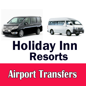 Holiday Inn Resort airport taxi